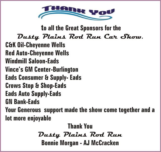 COT Dusty Plains Car Show