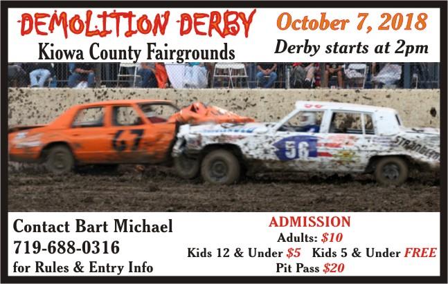 AD 2018 Demolition Derby