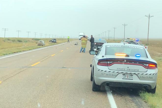 Crash closes Highway 96 near Sheridan Lake | Kiowa County