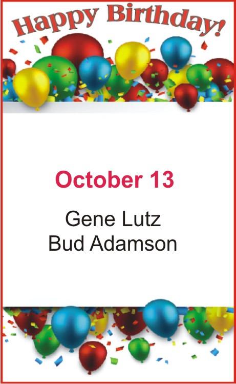 Happy Birthday to Lutz Adamson