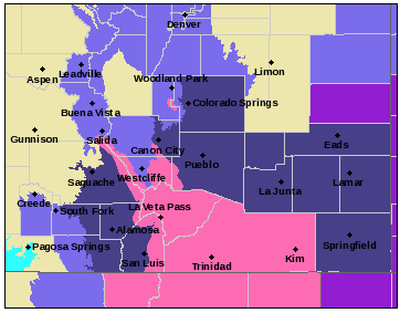 2018-10-14 MAP Winter Storm Warnings