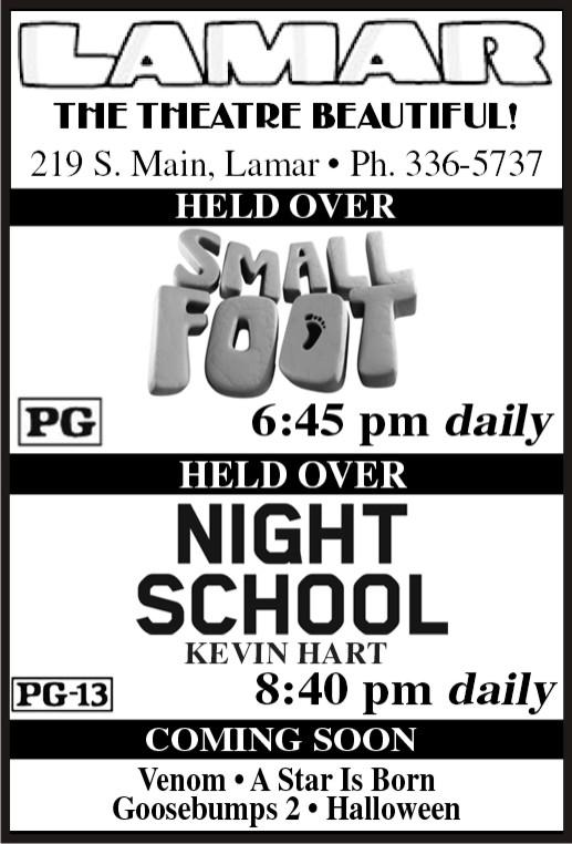 Lamar Theatre - 2018-10-26