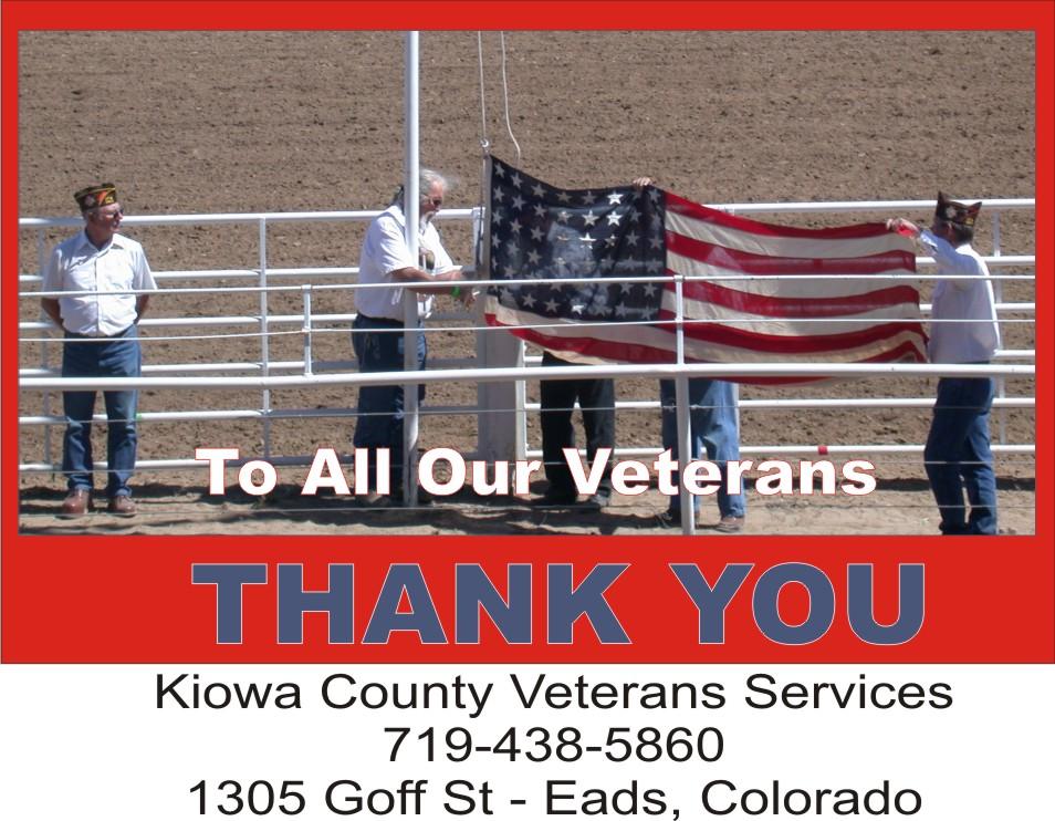 COT Kiowa County Veterans Services