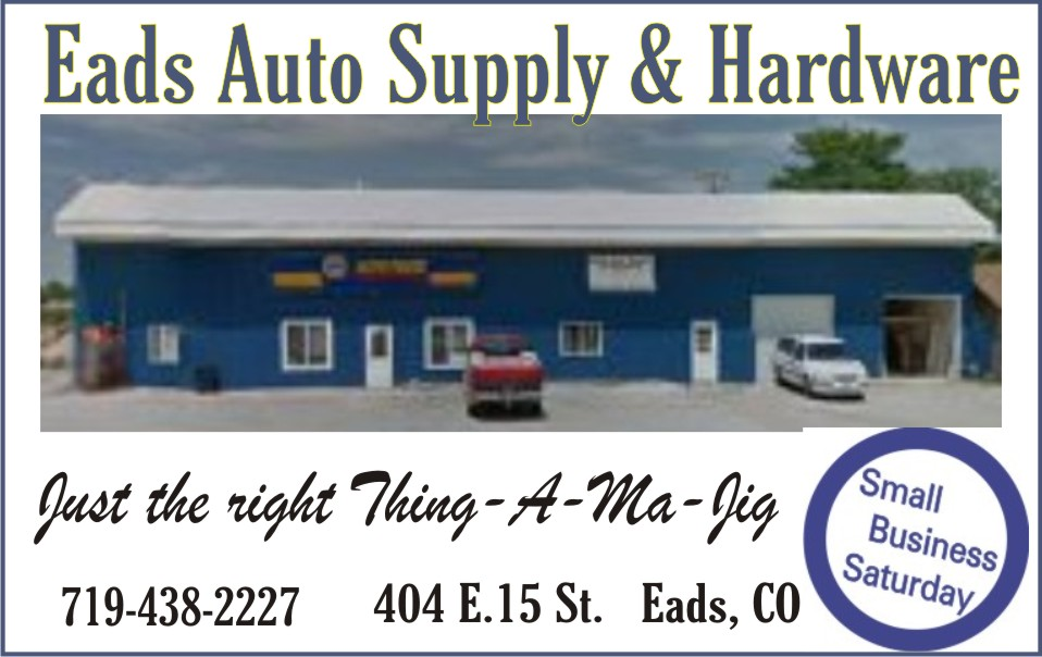 2018 Small Business Saturday - Eads Auto Supply & Hardware