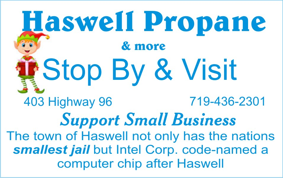 2018 Small Business Saturday - Haswell Propane