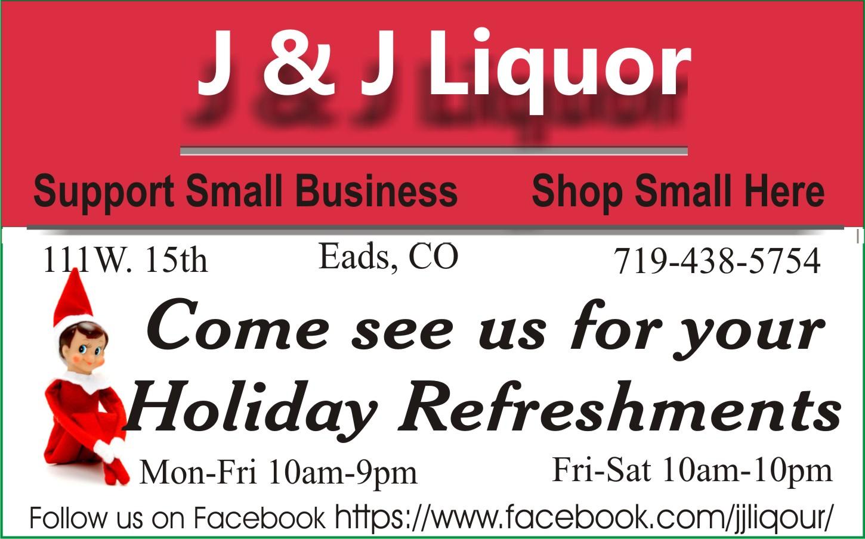 2018 Small Business Saturday - J&J Liquor
