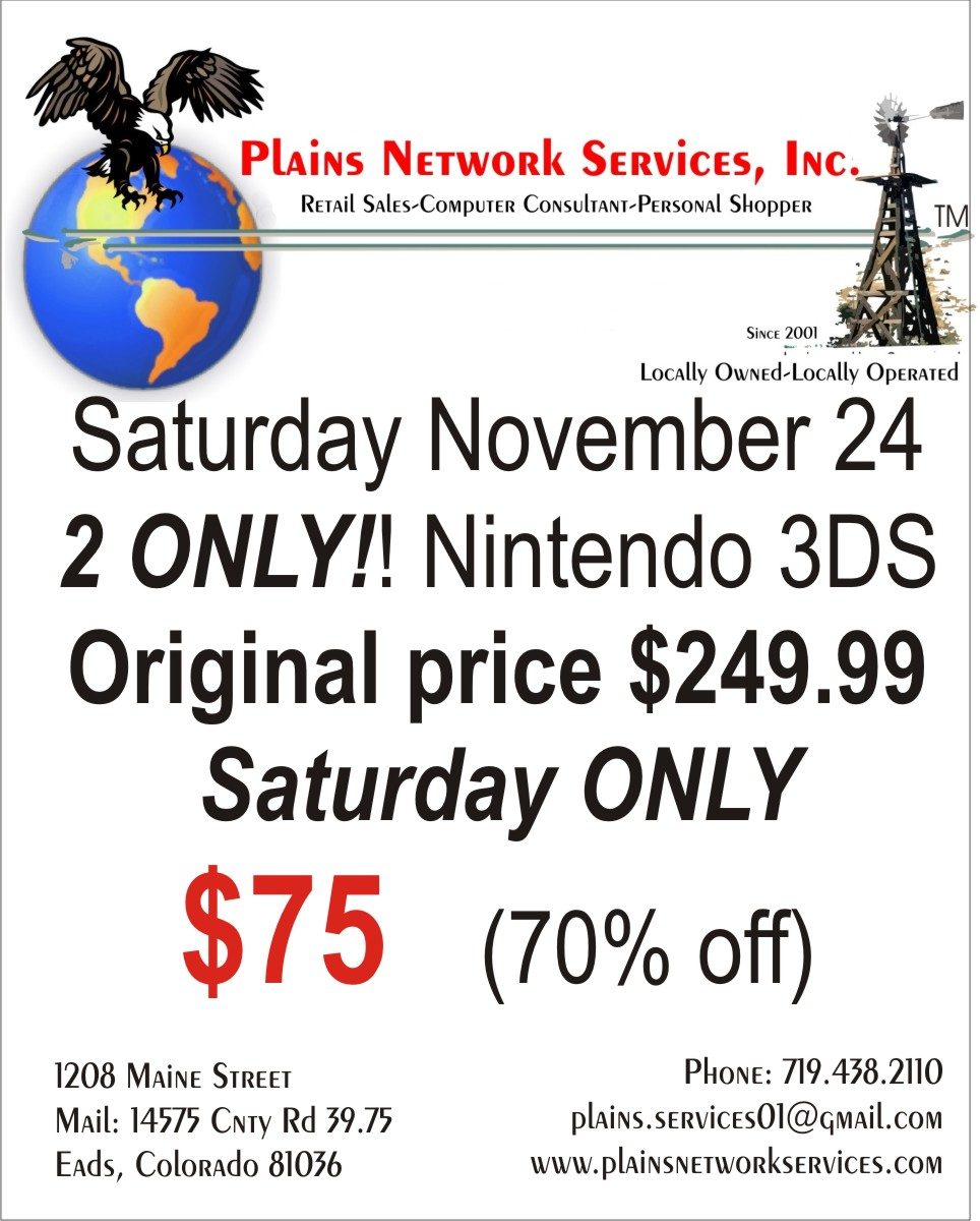 2018 Small Business Saturday - Plains Network Services