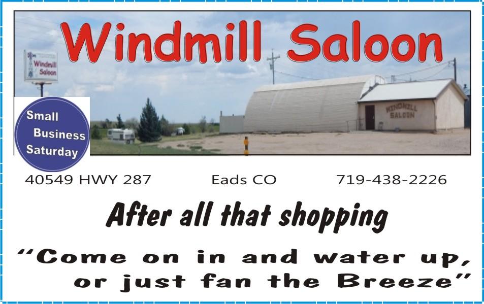2018 Small Business Saturday - Windmill Saloon