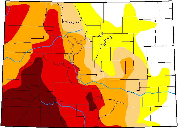 MAP Colorado Drought Conditions - November 13, 2018