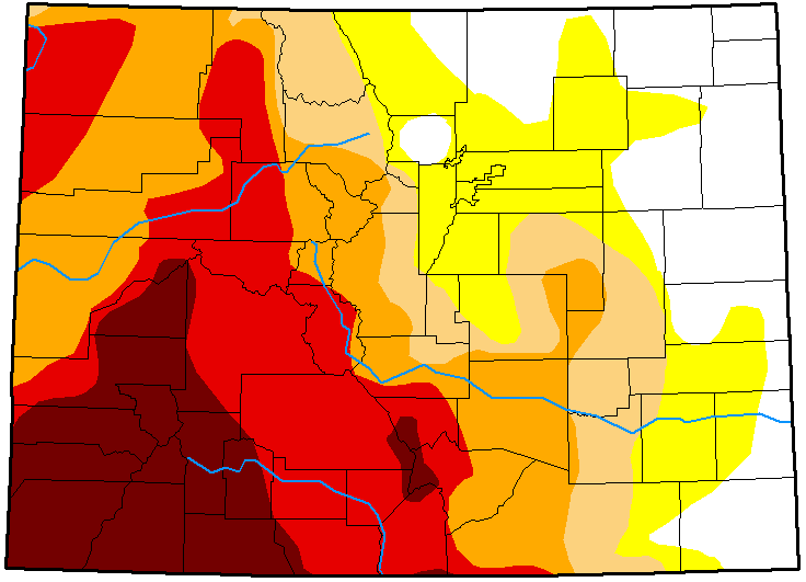 MAP Colorado Drought Conditions - November 20, 2018