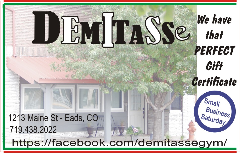 2018 Small Business Saturday - Demitasse