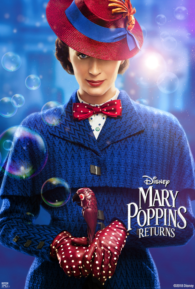 PICT Movie Review - Mary Poppins Returnes