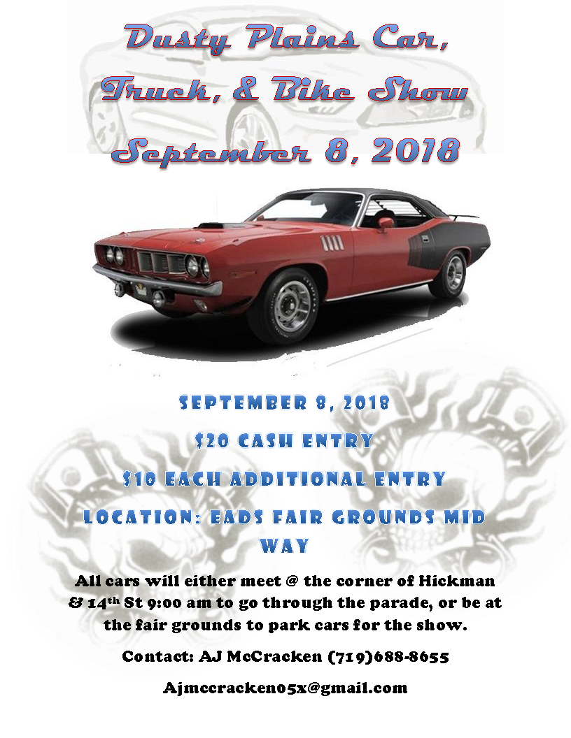 AD 2018 Dusty Plains Car Show
