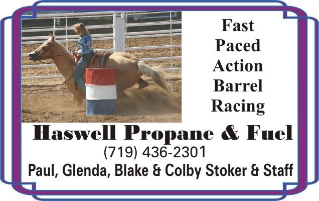2018 Fair Haswell Propane