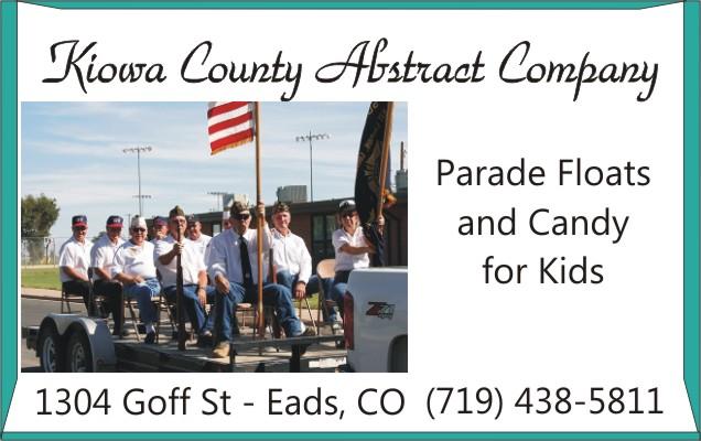 2018 Fair Kiowa County Abstract