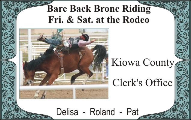 2018 Fair Kiowa County Clerk