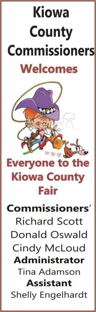 2018 Fair Kiowa County Commissioners