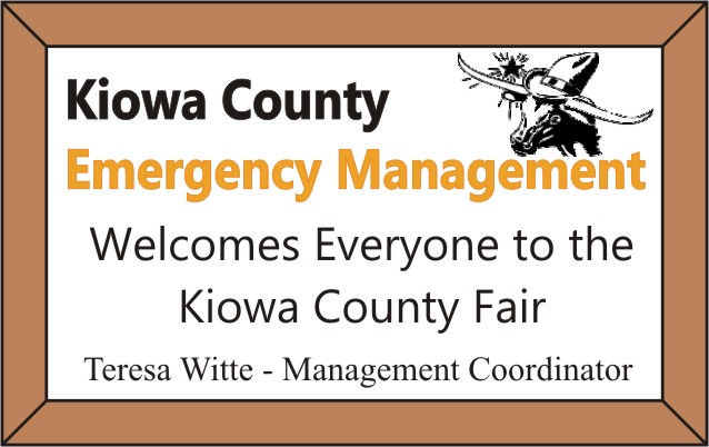 2018 Fair Kiowa County Emergency Management