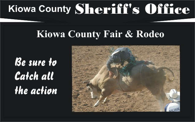 2018 Fair Kiowa County Sheriff