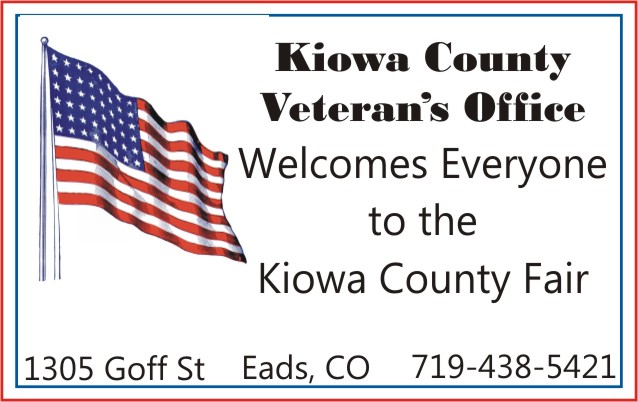 2018 Fair Kiowa County Veterans Office