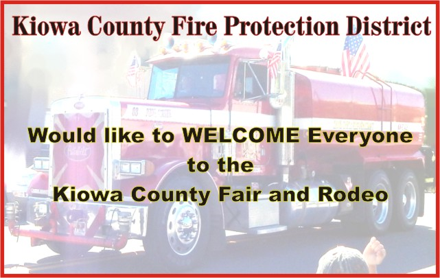 2018 Fair Kiowa County Fire Protection District