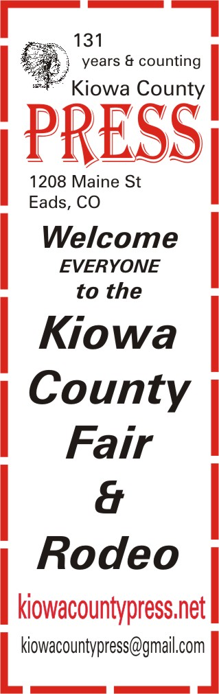 2018 Fair Kiowa County Press