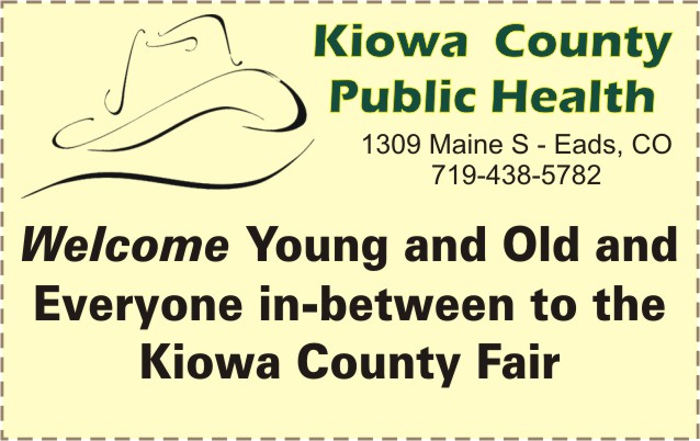 2018 Fair Kiowa County Public Health