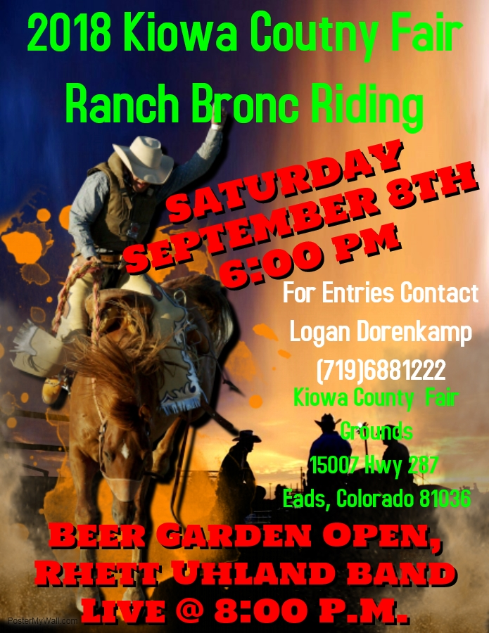 AD 2018 Ranch Bronc Riding