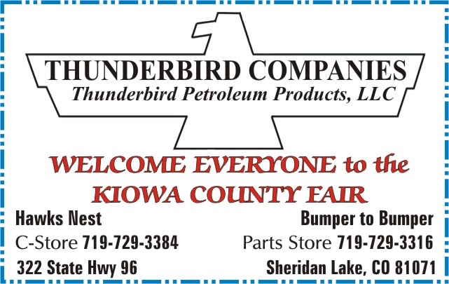 2018 Fair Thunderbird Company