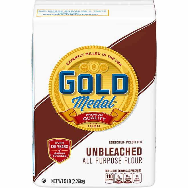 PICT Gold Medal Unbleached Flour 5 pound bag