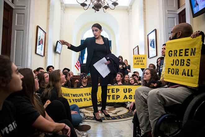 PICT Congresswoman Alexandria Ocasio-Cortez - Earthtalk