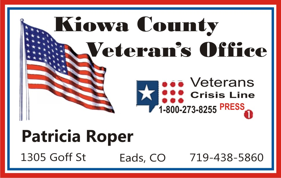AD 2019 Kiowa County Veterans' Services