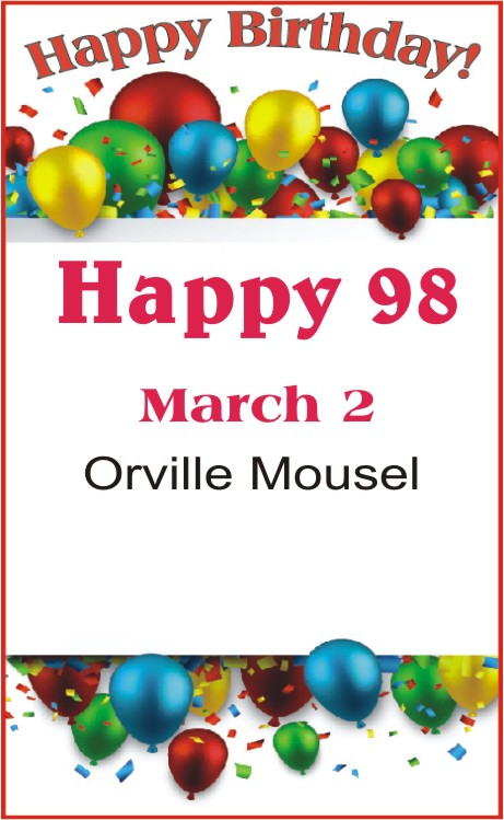 Happy Birthday to Mousel