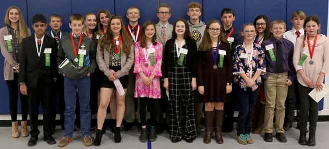 PICT Regional Science Fair winners 2019