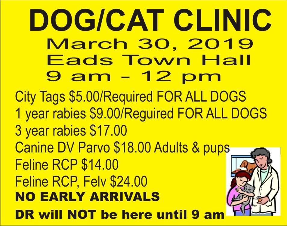 AD 2019 Eads Dog and Cat Clinic
