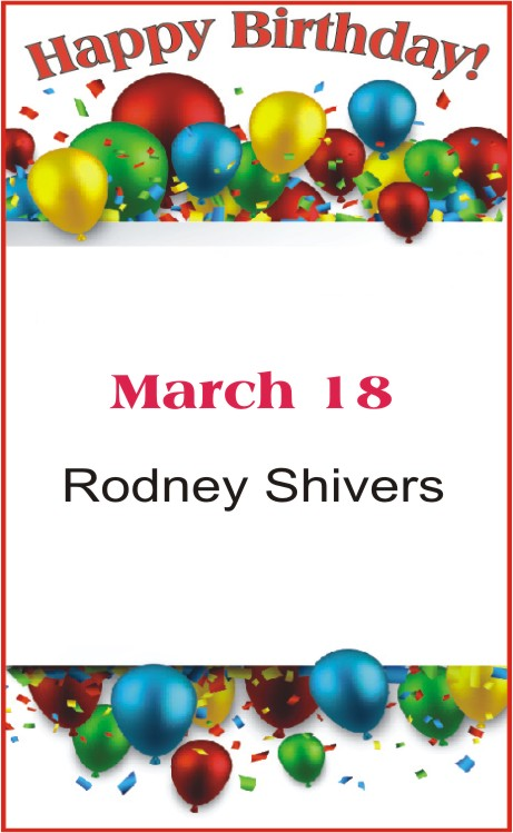 Happy Birthday to Shivers