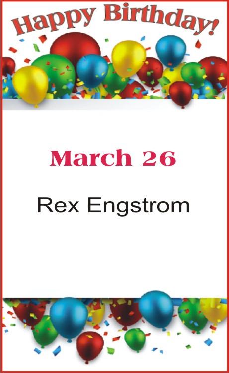 Happy Birthday to Engstrom