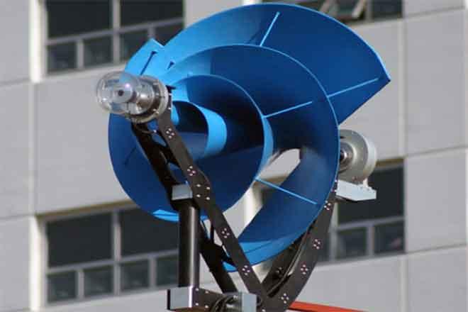 PICT 64J1 Rooftop Wind Turbine - EarthTalk