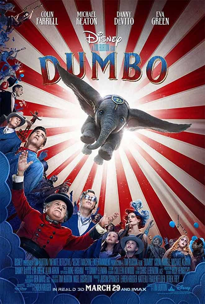 PICT MOVIE Dumbo Movie Poster