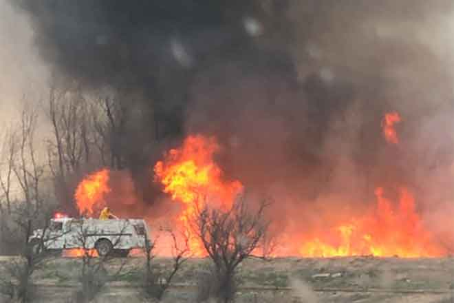 PICT Black Bridge Fire in Bent County April 5, 2019 - Casey Sheridan