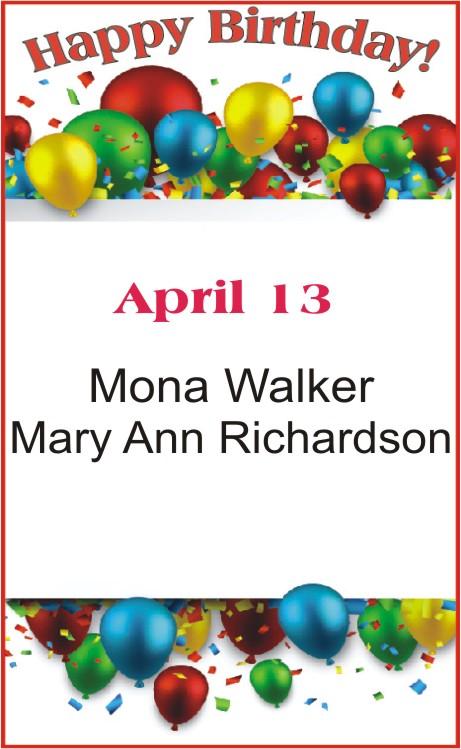Happy Birthday to Walker Richardson