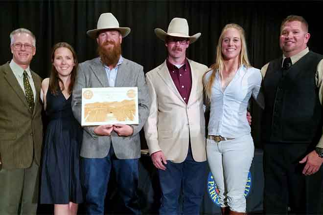 PICT Chico Basin Ranch Partner of the Year - CPW