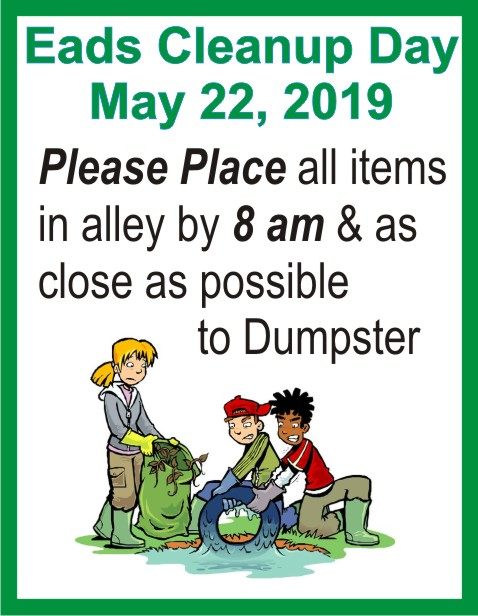 ADV 2019 Eads Cleanup Day
