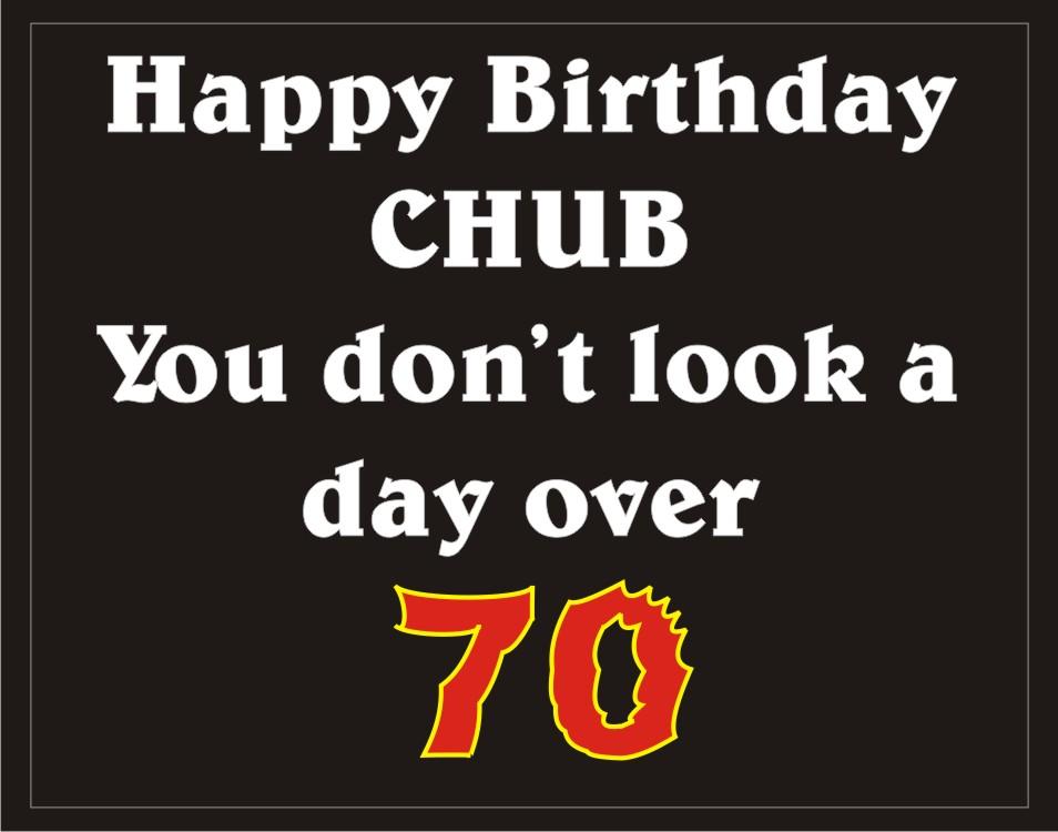 Happy Birthday to Chub