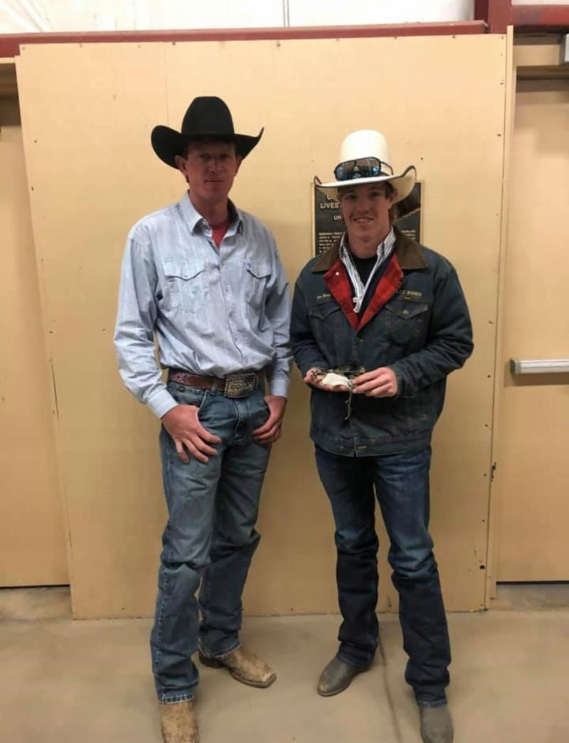 PIC LCC Rodeo Coach, Cole Dorenkamp and Nate Hoey