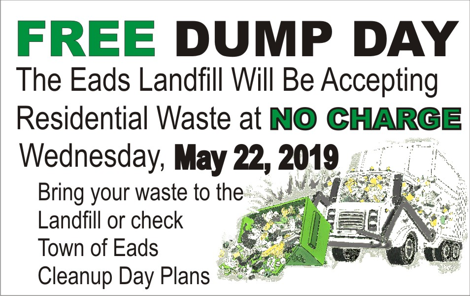 AD 2019 Kiowa County Free Dump Day