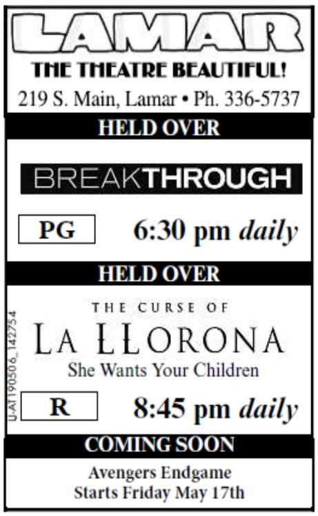 Lamar Theatre - 2019-05-10