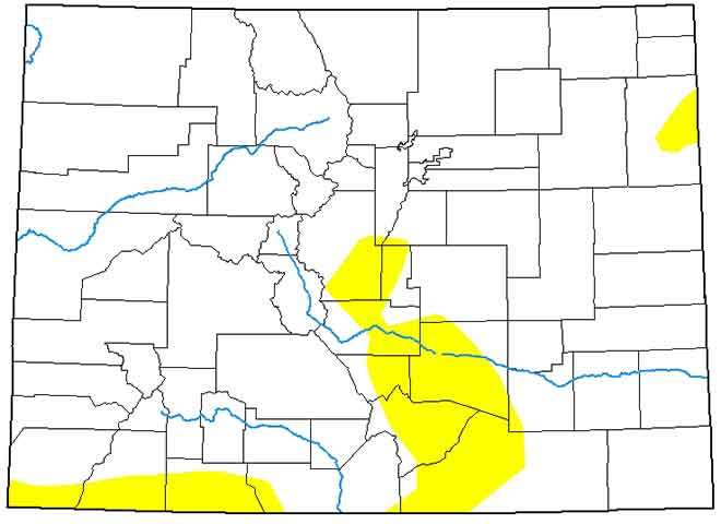 MAP Colorado Drought Conditions - May 14, 2019