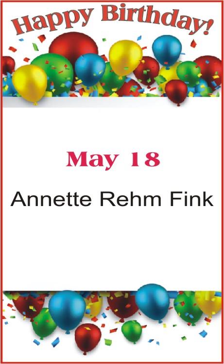 Happy birthday to Fink