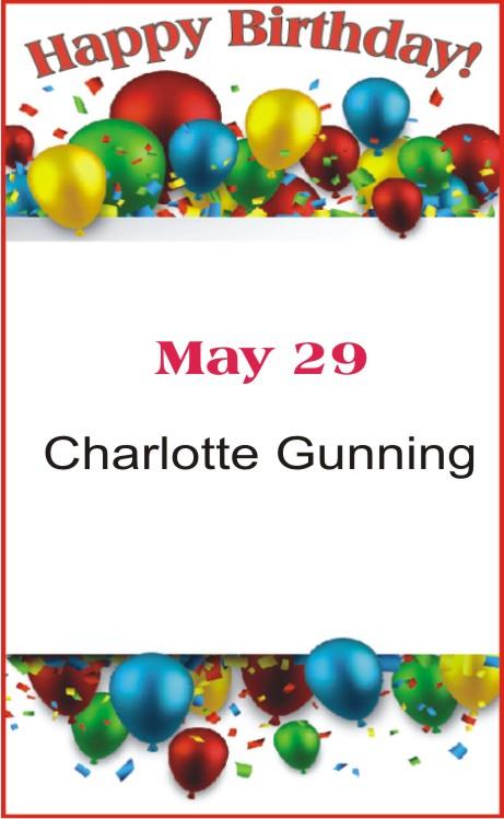 Happy Birthday to Gunning